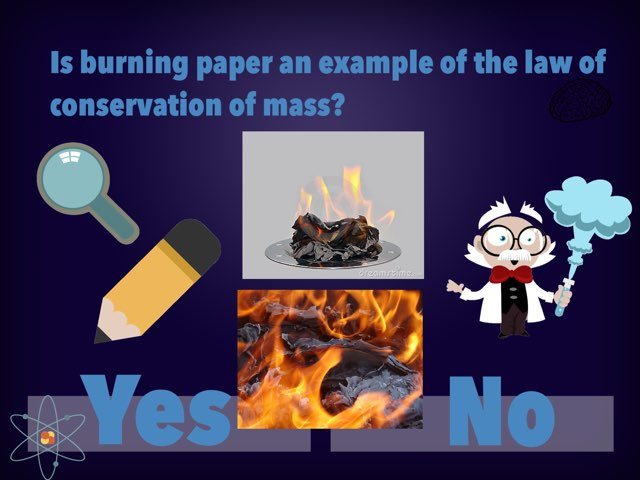 Law Of Conservation Of Mass by Michelle Vinocour