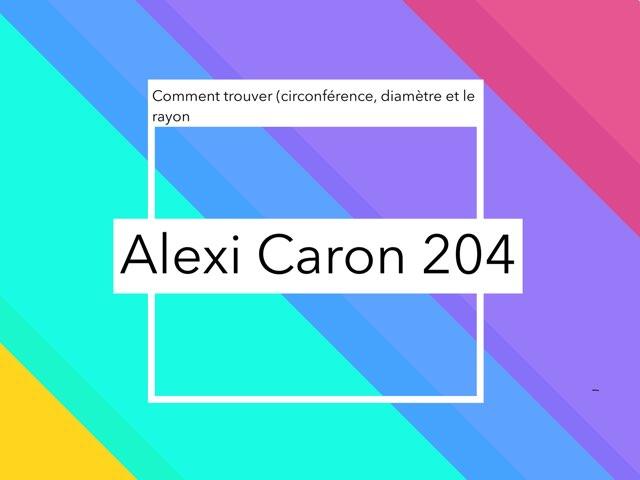 Le Jeux De Math by Alexi Caron