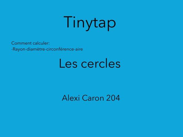 Le Jeux Des Cercles by Flavie Dansereau