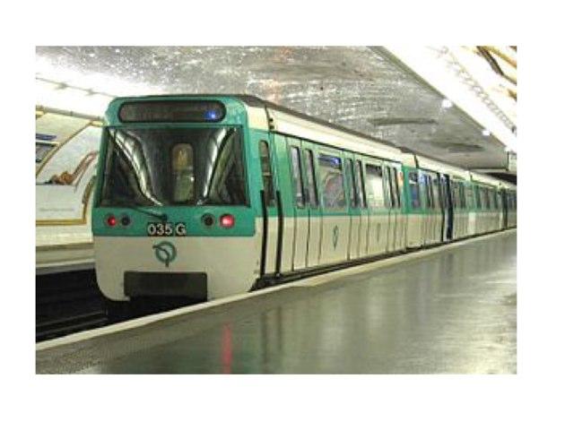 Le Metro by Olivia Larson