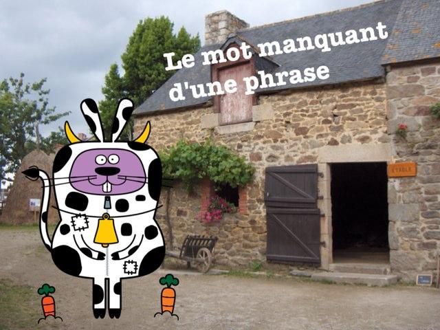 Le Mot Manquant D'une Phrase by Alice Turpin