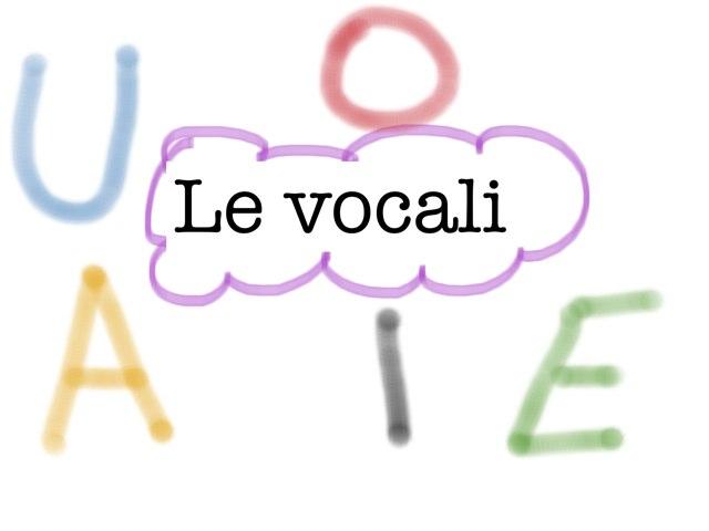 Le Vocali by Maestra Samy