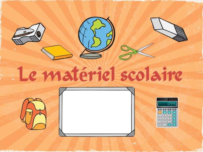 Le matériel scolaire by El Sherbini hanaa