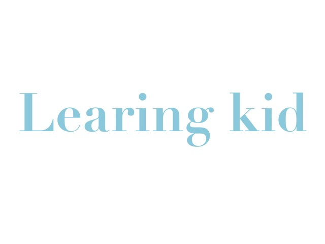 Learing Kid #1 by Emilie Melnyk
