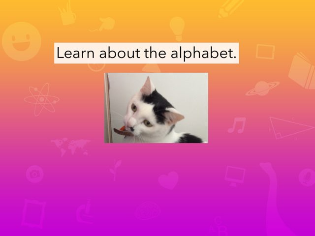 Learn About The Alphabet by Renee Richards