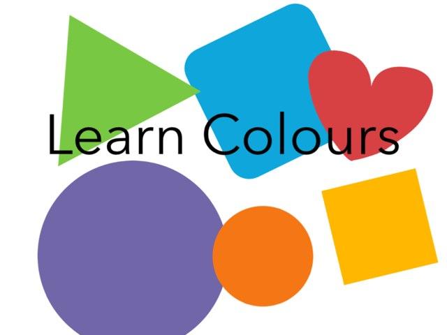 Learn Basic Colours by Luke Evans