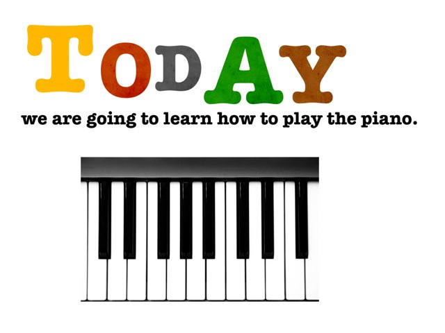 Learn The Piano by Renee Richards