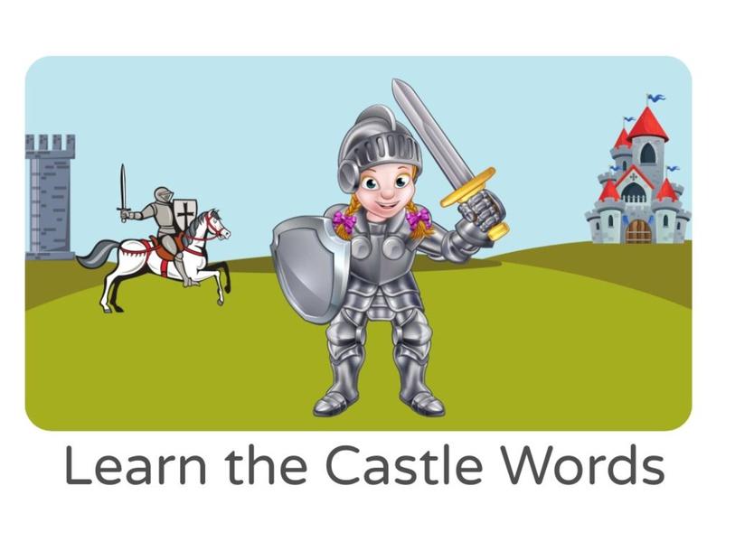 Learn the Castle Words by Lauren Hamilton Saez