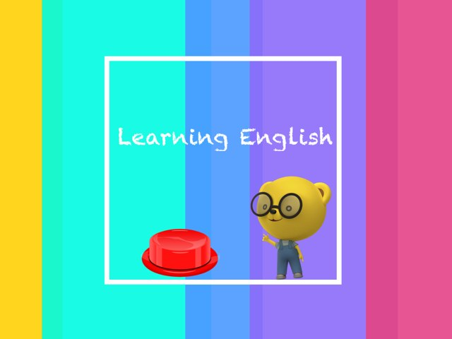 Learning English  by Apple Head