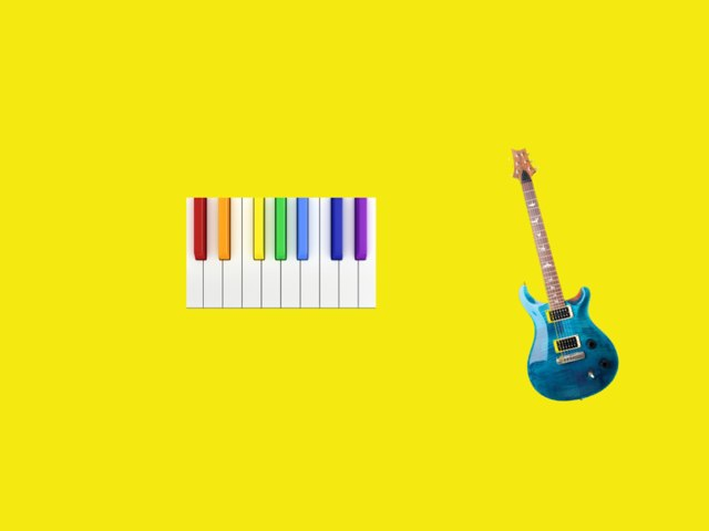 Learning Instruments In Shapes by Carolina Pagani
