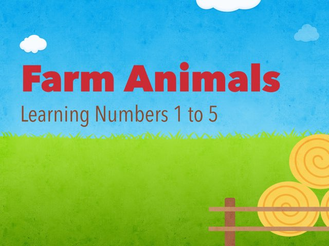 Learning Numbers 1 To 5 by Jessica McPolin