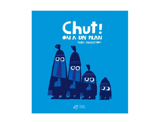 Lecture Chut! by Ludivine Werner