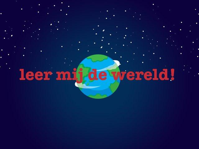 Leer mij de wereld by Sterre Schreuder