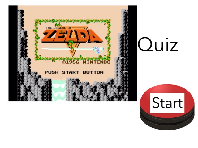 Legend Of Zelda Quiz by Dylan  Martinez