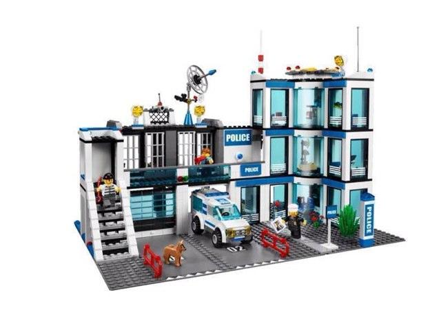 Lego Politiebureau  by Teun Wagt