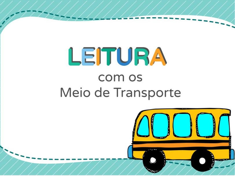Leia com os transportes by Ana Carolina Povoa