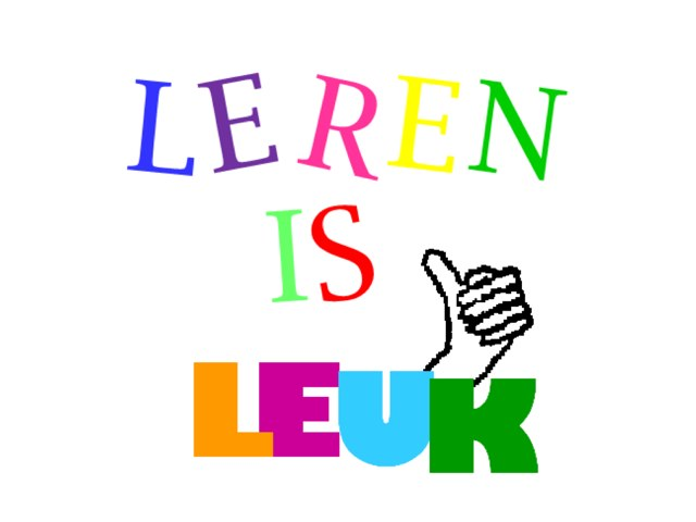 Leren Is Leuk by Chelsea Danique