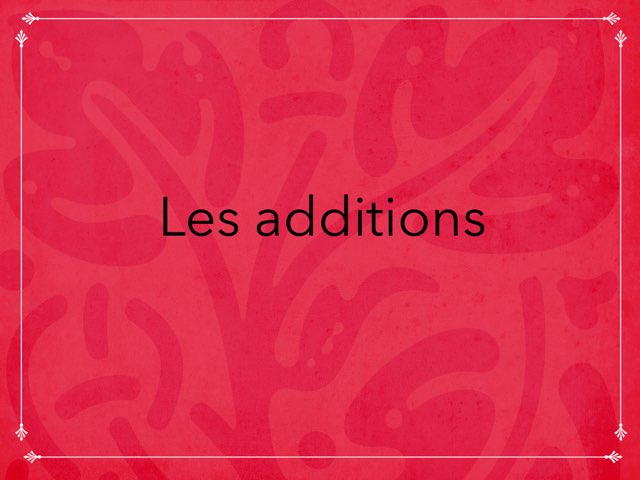 Les Additions by Ève Java
