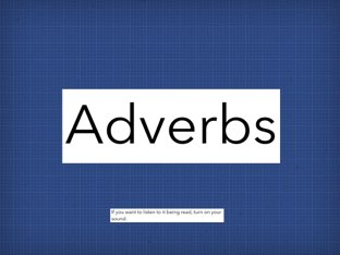Les Adverbs by LNCharter FHS