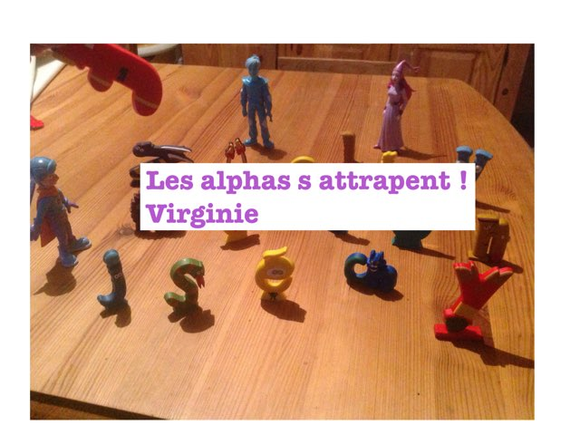 Les Alphas S Attrapent by Virg Inie