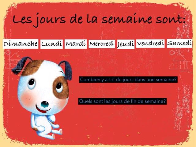 Les Jours De La Semaine by Marie-Claude GR