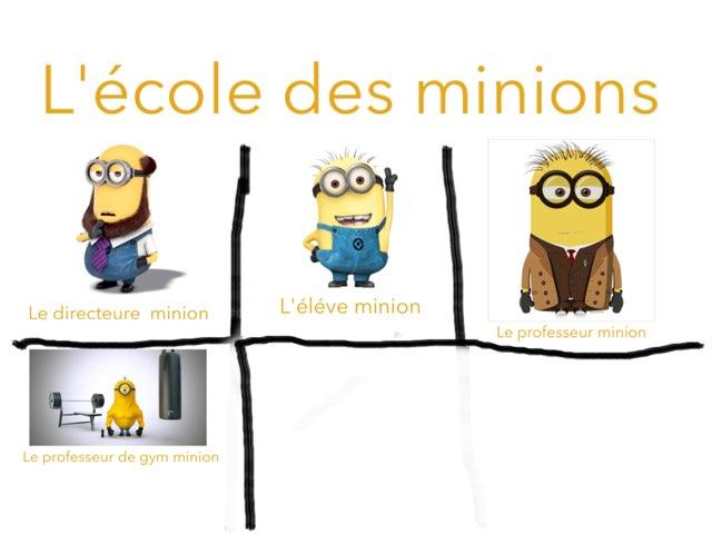 Les Minions by Laura Glineur