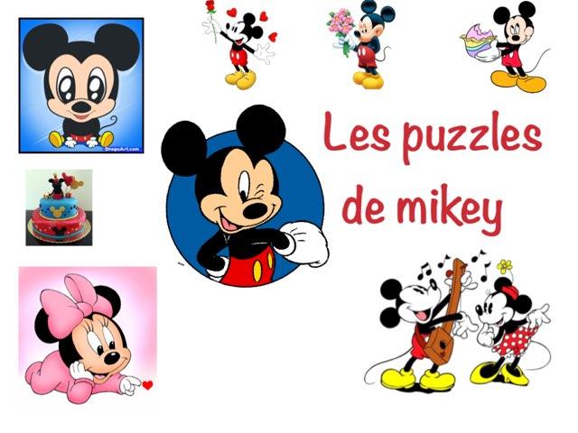 Les Puzzles De Mikey  by Charlotte Challet