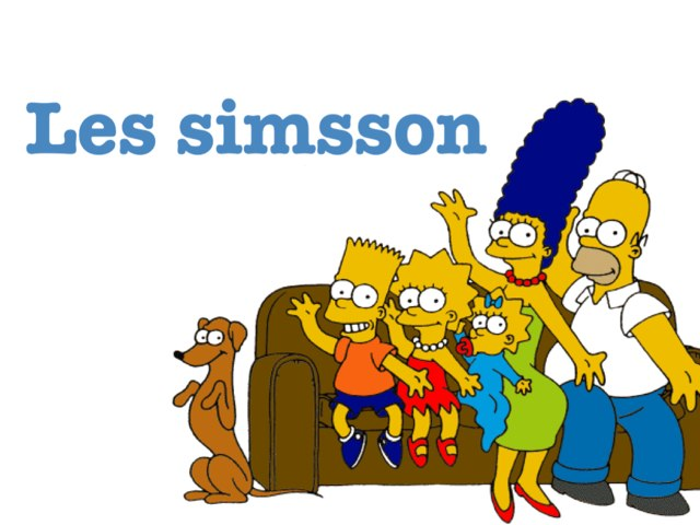 Les Simssons  by Charlotte Challet