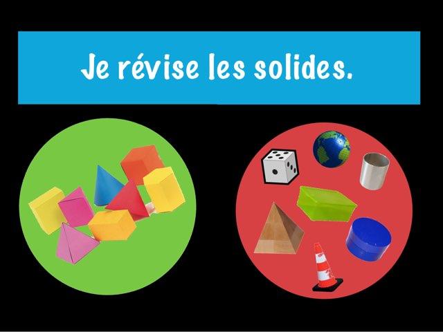 Les Solides by Sylvianne Parent