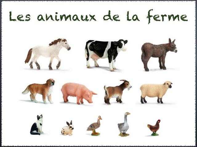 Les animaux de la ferme by Florence Latour