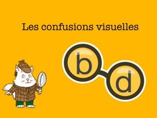 Les confusions visuelles b/d by Charlotte Doigt-Chapeau