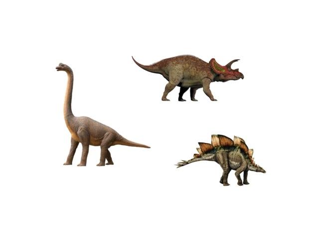 Les dinosaures by Eloise Mc Carthy
