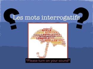 Les mots interrogatifs by Isha  L.