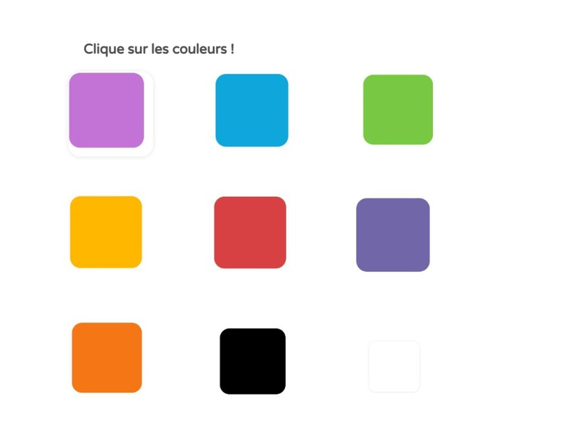 Les couleurs by UPE2A Prades