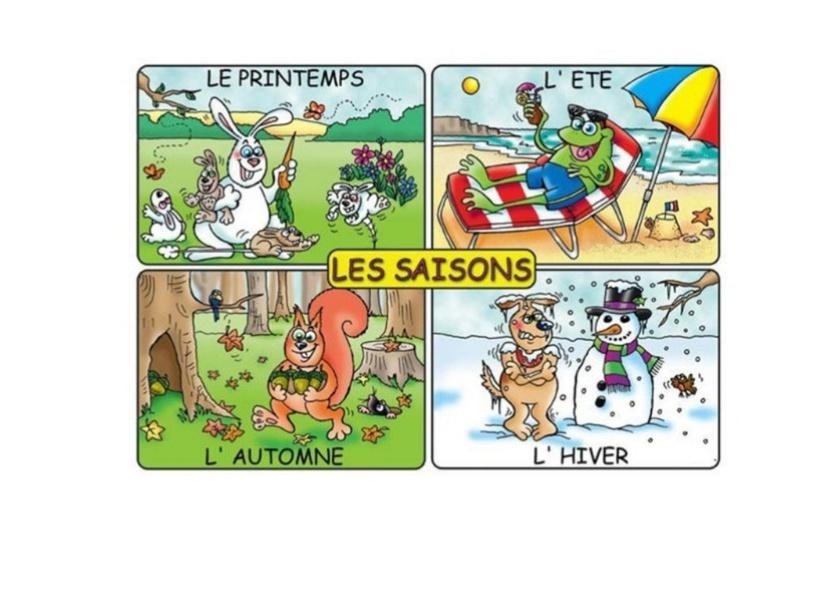 Les saisons  by manel badri