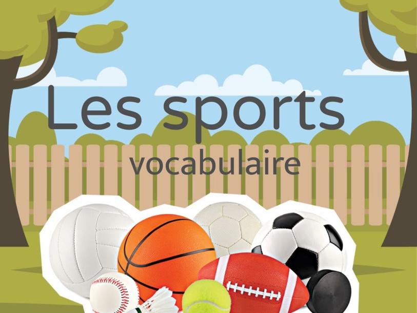 Les sports (en français) by nadeirdre Benmbarek