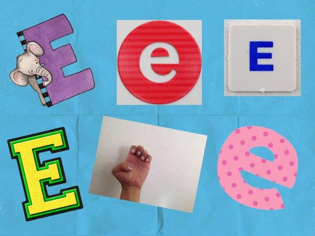 Letra E En LSM by Pao Mancera