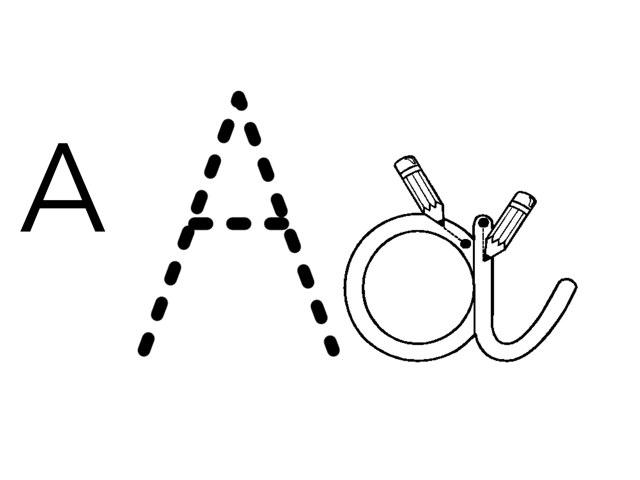 Letras Divertidas Version A a La J by umhj hjmbj