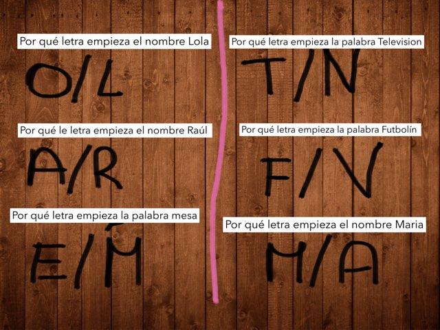 Letras by Natalia Fernández Morales