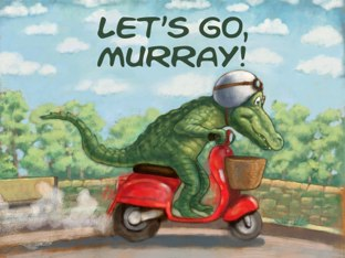 Let's Go, Murray! by David Opie