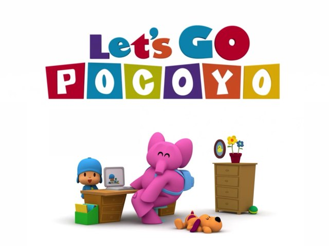 Let's Go Pocoyo - Pato's Shower by Tiny Tap