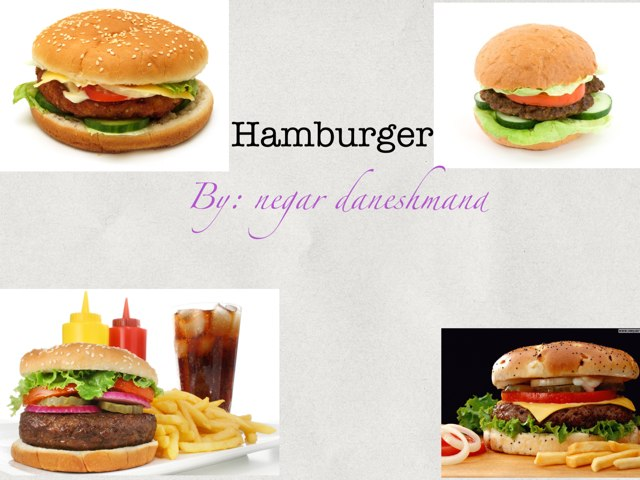Lets Make Hamburger by Negar Daneshmand