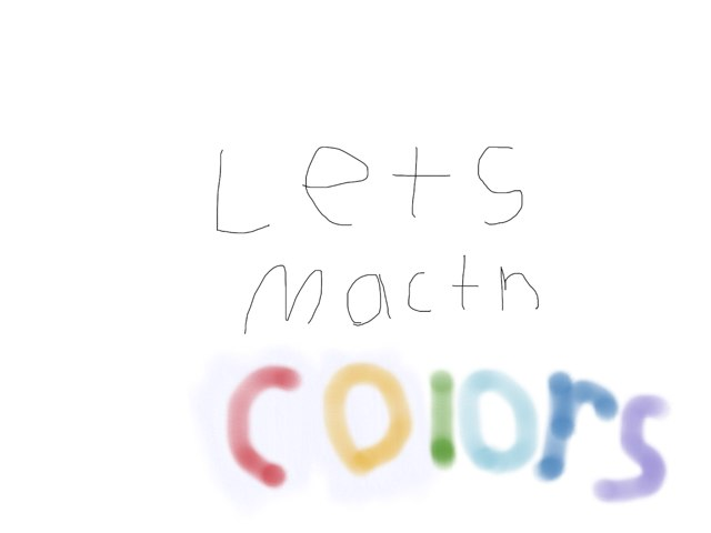 Lets Match COLORS by Gugus Ibuas