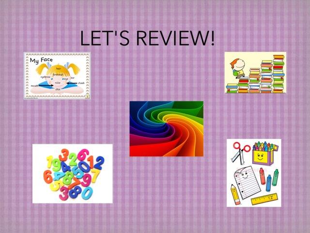 Let's Review! by Ana Paula de Francisco Oliveira