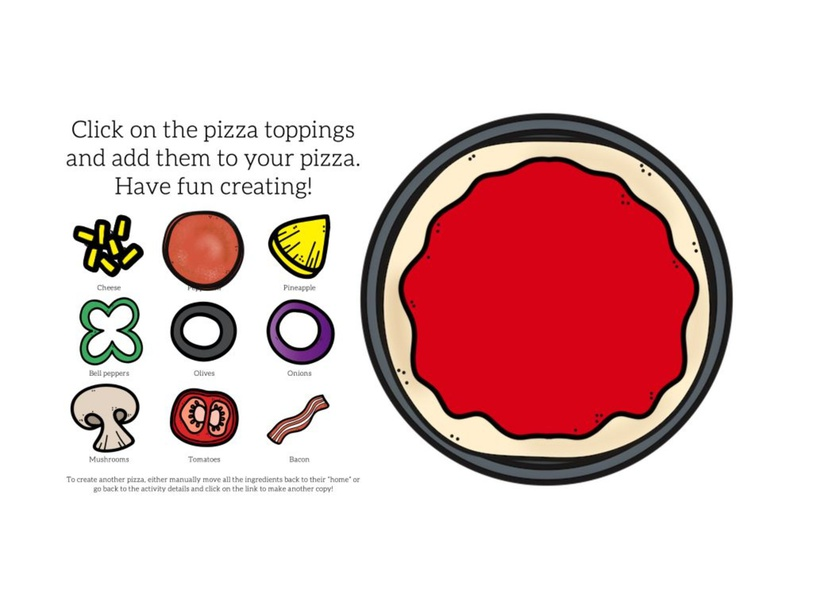 Let's Build a Pizza by Kelly McLellan