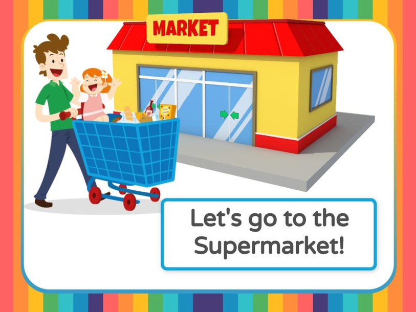 Let's go to the Supermarket! by Tengku  Sarah