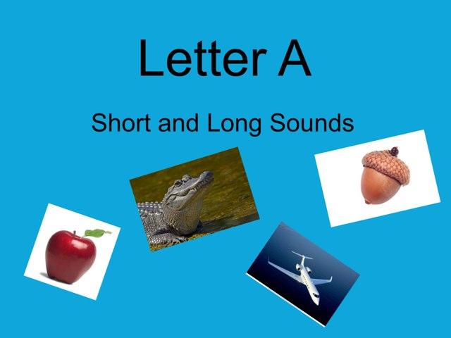 Letter A by Carmen Giraldez