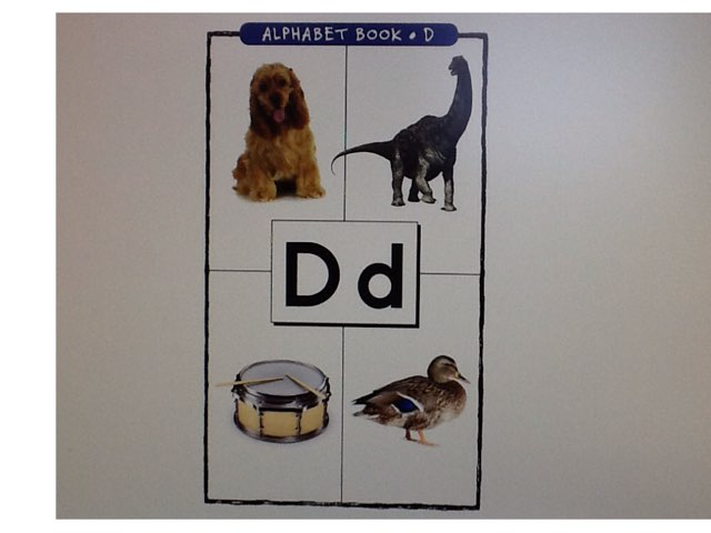 Letter D by Bethany Hentgen