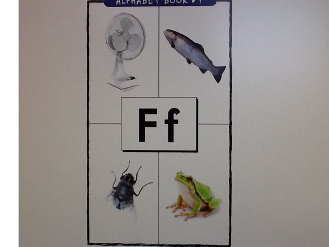 Letter F by Bethany Hentgen