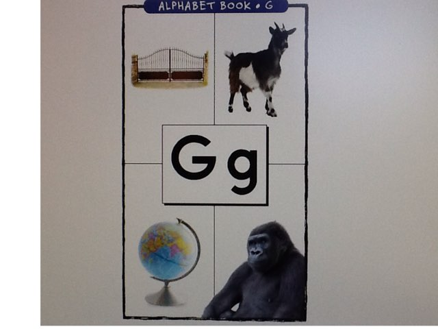 Letter G by Bethany Hentgen